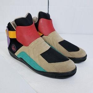 Metroblade Multi-colored Suede High Top Sneakers